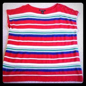Ralph Lauren linen blend tunic